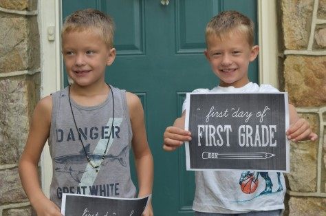boys first day