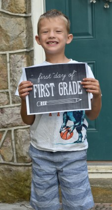 Franklin first day