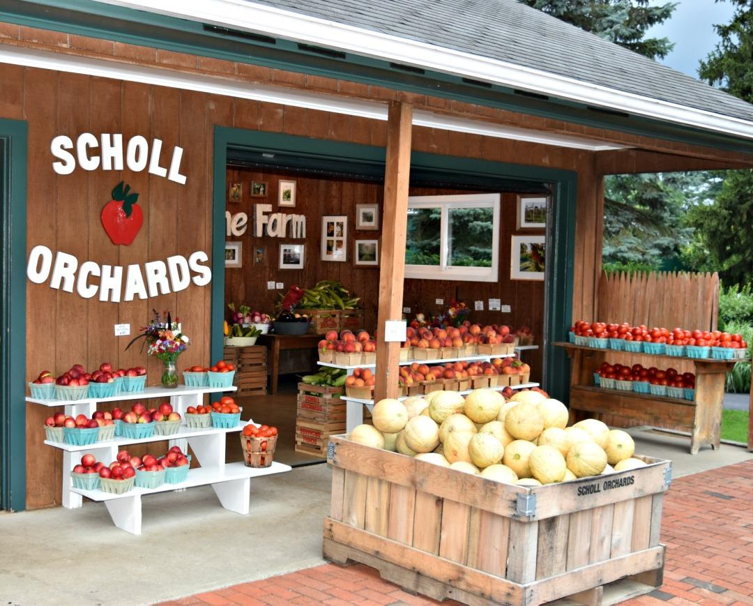 Peach cobbler recipe and tutorial for Exterior standalone retail