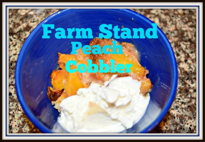 Farm Stand Peach Cobbler